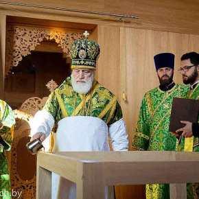 Πρώτη εκκλησία του Αγίου Παϊσιου του Αθωνίτη στηνΛευκορωσία