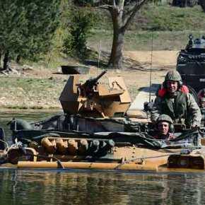 «Γέφυρες πολέμου» στήνει η Άγκυρα: Άσκηση βίαιης διάβασης του Έβρου από τουςΤούρκους