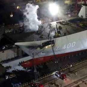 Στις φλόγες το TCG Anadolu: Σοβαρές ζημιές για το αεροπλανοφόρο τηςΤουρκίας