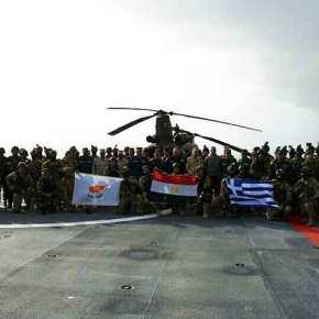 «Σφραγίστηκε» η συμμαχία της Α.Μεσογείου: Οι Έλληνες κέρδισαν τις εντυπώσεις στη «Μέδουσα8»