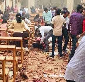 «Μακελειό» στην Σρι Λάνκα: Τουλάχιστον 138 νεκροί – Bίντεο σοκ από το «ματωμένο» Πάσχα τωνΚαθολικών