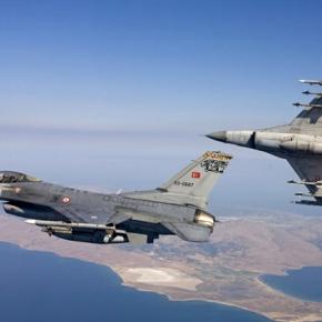 Τουρκικό μαχητικό πραγματοποίησε υπερπτήση πάνω από τηΡω