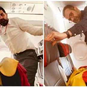 Αχαϊα: Θρίλερ σε αεροπορικό ταξίδι – Την έσωσαν από βέβαιο θάνατο στην καμπίνα των επιβατών[pics]