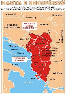 Γιατί η Σερβία υποστηρίζει την ιδέα της «ΜεγάληςΑλβανίας»