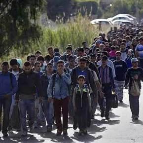 «Απόβαση» μεταναστών στον Έβρο: Μαζική είσοδος από τα σύνορα με τηνΤουρκία