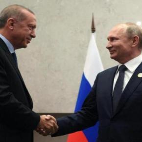 Δημοσίευμα σοκ για ΝΑΤΟ: «Στη συνάντηση Πούτιν-Ερντογάν η στρατηγική συνεργασία θα ανέβει επίπεδο – Τί θασυμφωνηθεί»