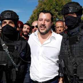 ραματική προειδοποίηση Μ.Σαλβίνι: «Η κρίση στη Λιβύη στέλνει τρομοκράτες στην Ευρώπη» – «Τα λιμάνια πρέπει να παραμείνουνκλειστά»