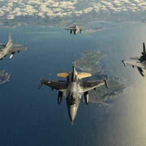 Οχτώ Τούρκικα F-16 και ένα CN-235 …Παραβίασαν ξανά το FIRΑθηνών