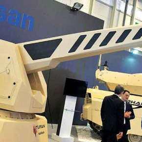 Δοκιμές του πυκνωτικού τουρκικού ηλεκτρομαγνητικού πυροβόλουTufan