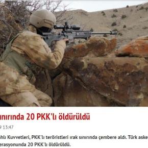Δεκάδες νεκροί σε μάχες Κούρδων ανταρτών και τουρκικούστρατού