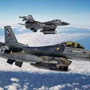 Τουρκία: Ψάχνουν λύσεις για τα ανταλλακτικά των F-16 εάν προκύψει εμπάργκοόπλων!