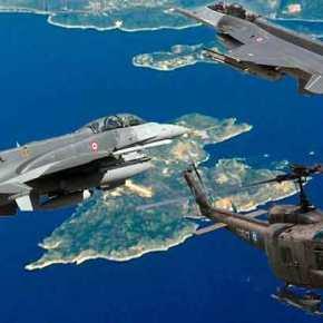 Επίθεση τουρκικών F-16 στο «αρχαίο» UH-1 που μετέφερε τον Α/ΓΕΣ Γ.Καμπά στο Καστελόριζο – Παραλίγοκατάρριψη