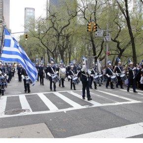 Παρέλαση της ομογένειας στην 5η Λεωφόρο τουΜανχάταν