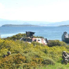 Τουρκική αποβατική Άσκηση των Δυνάμεων της Στρατιάς τουΑιγαίου