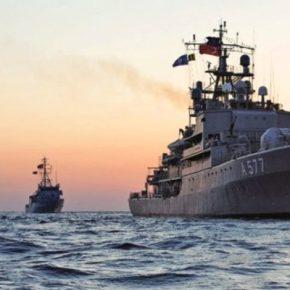 Βγήκε απο τα Δαρδανέλια προς το Αιγαίο το …»TCG Sokullu Mehmet Paşa A577″ με το Σύστημα(Korkut-D)