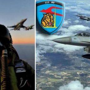 Εισέβαλλαν με 16 F-16 οι Τούρκοι το Αιγαίο …Αλλά βρέθηκαν αντίκρυ στις Τίγρεις της335Μ΄