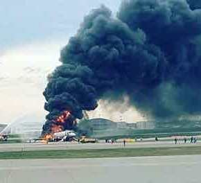 Τραγωδία στη Μόσχα: Στους 41 οι νεκροί από την φωτιά στο αεροσκάφος της Aeroflot (βίντεο)(upd2)