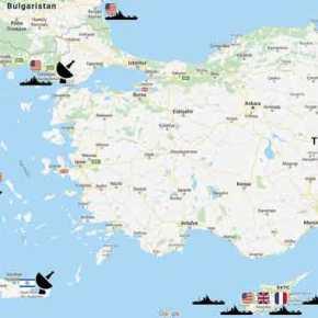 «Ουρλιάζουν» οι Τούρκοι: «Επιθετικές κινήσεις από Ελλάδα, ΗΠΑ &Ισραήλ»