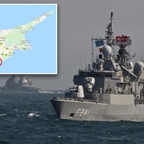 Ο γαλλικός στόλος ρίχνει άγκυρα στηνΚύπρο