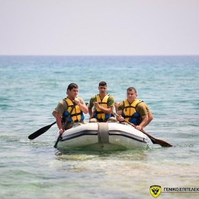 Θαλάσσια εκπαίδευση της 7ης Μ/Κ ΤΑΞ ΠΖ, στοΠαραλίμνι