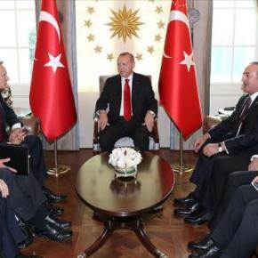 Συνάντηση του Γ.Γ του ΝΑΤΟ με τον Ερντογάν …Κεκλεισμένων τωνθυρών