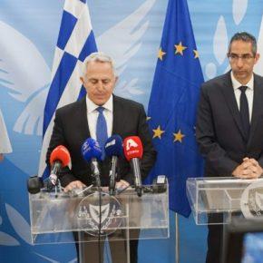 «Ψυχραιμία » απο τους ΥΠΑΜ Ελλάδος -Κύπρου …Συνοδεία Αρχηγών(vid)