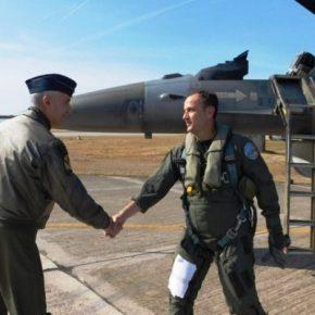 Ο Αρχηγός ΑΤΑ στην 130 Σμηναρχία Μάχης και την 8η ΜΣΕΠ στη Λήμνο(ΦΩΤΟ)