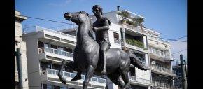 Βανδάλισαν το άγαλμα του Μεγάλου Αλεξάνδρου – «Ο Μεγαλέκος ήταν φονιάς τωνλαών…»