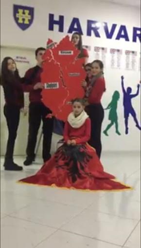 «Σκανδαλώδες Αλβανικό Βίντεο με τη ΜεγάληΑλβανία»