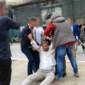 Καθεστώς ΣΥΡΙΖΑ: Βίαιη απομάκρυνση διαδηλωτή στη Λευκάδα από το οπτικοακουστικό πεδίο τουΑ.Τσίπρα