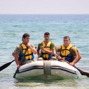 Θαλάσσια εκπαίδευση της 7ης Μ/Κ ΤΑΞ ΠΖ, στο Παραλίμνι..Φωτογραφίες.