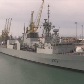 Πλοία του ΝΑΤΟ στο λιμάνι τουΔυρραχίου