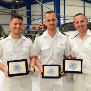 Ολοκληρώθηκε η εκπαίδευση των πρώτων Ανθυποπλοίαρχων χειριστών P-3Orion