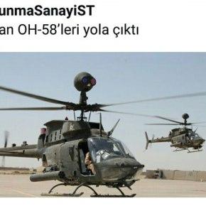 Ανησυχούν και οι Τούρκοι …Τα Ελικόπτερα ΟΗ-58DT έρχονται!!