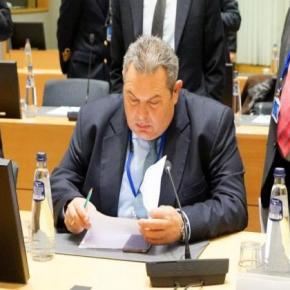 Καμμένος: Να αναβληθεί η συζήτηση για ψήφο εμπιστοσύνης της κυβέρνησης λόγωΤουρκίας