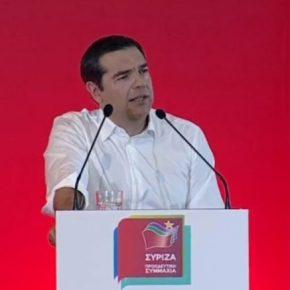 Εχουμε τη δύναμη και θα υπερασπιστούμε το δίκιο μας στο Αιγαίο και στην Κύπρο, είπε ο Τσίπρας(video)