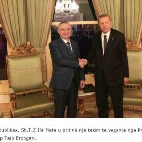 Ο πρόεδρος της Αλβανίας σε 'ειδική σύσκεψη' με τον Τούρκοπρόεδρο