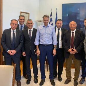 Συνάντηση του Κυριάκου Μητσοτάκη με εκπροσώπους της ελληνικής μειονότητας στηνΑλβανία