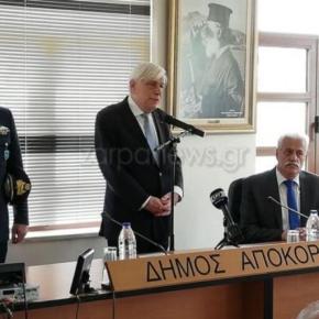Παυλόπουλος: «Δε θα ανεχθούμε αυθαιρεσίες από τηνΤουρκία»