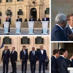 O ευρωπαϊκός νότος στηρίζει την Κύπρο.Φωτογραφίες.