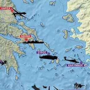 Ώρα αποφάσεων: Οι ΗΠΑ ετοιμάζουν το σχέδιο για τον ρόλο της Ελλάδας σε Αιγαίο-Α.Μεσόγειο