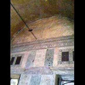 Βίντεο μέ σταυρούς που εμφανίζονται σε διάφορα σημεία της εκκλησίας της ΑγίαςΣοφίας