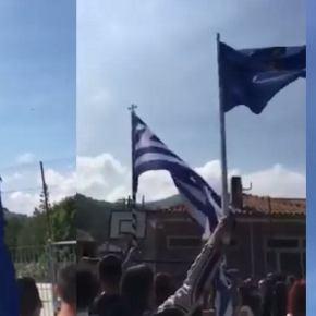 Ηχηρό μήνυμα της ΠΑ: Πτήση δύο F-4E πάνω από τα Πομακοχώρια – Σήκωσαν Ελληνικές σημαίες μαθητές &κάτοικοι