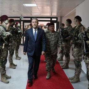 Χ. Ακάρ από την βάση των «Μπορντό Μπερελί»: «Δεν θα δεχτούμε τετελεσμένα σεΑιγαίο-Κύπρο»