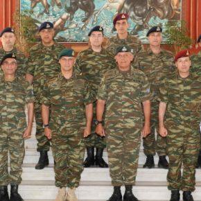 1η Στρατιά: Τον Διοικητή της ΑΣΔΕΝ υποδέχθηκε ο Αντιστράτηγος Φλώρος[pics]