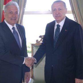 Μήνυμα στον… Κυριάκο το φιλικό κλίμα στη συνάντηση Ερντογάν-Αβραμόπουλου;