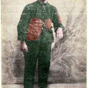 Αιχμάλωτος των Τούρκων 1922-1923. Βασίλης Γ. Διαμαντόπουλος Θείρα Μ. Άσίας22-2-1922