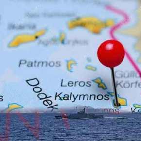 Για αβλαβή… διέλευση κάνει λόγο το ΓΕΝ για την τουρκική πρόκληση με διέλευση πολεμικού πλοίου έξω από τηνΚάλυμνο