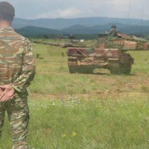 Τα Ελληνικά «Leopard 2HEL» μοιράζουν… «Φωτιά και Ατσάλι» και στη Βουλγαρία (φωτό καιvideo)