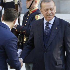 Ερντογάν για Τσίπρα: Μιλάει μόνος του, εμείς θα κάνουμεγεωτρήσεις